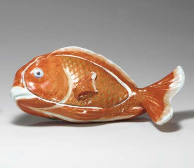 A CARP TUREEN AND COVER