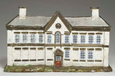 A STAFFORDSHIRE PEARLWARE PAST