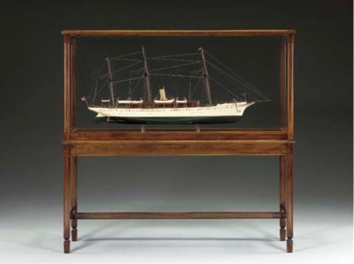 A Model of the Steam Yacht Nia