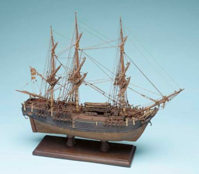 A Model of the H.M.S. Bounty