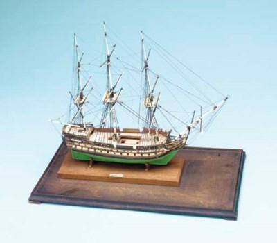 A Model Of The 80-gun Ship War