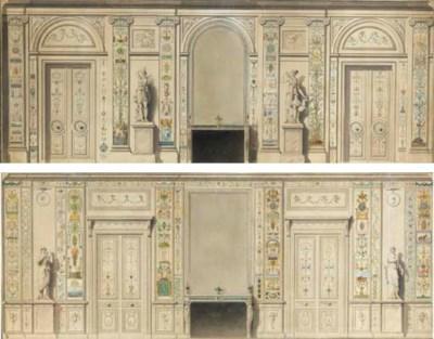 French School, circa 1785