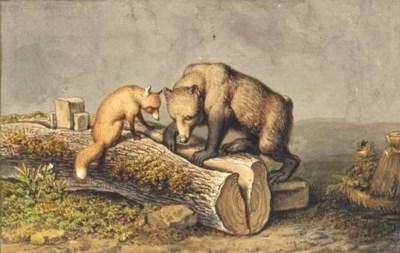 Reynard the Fox and Braun the