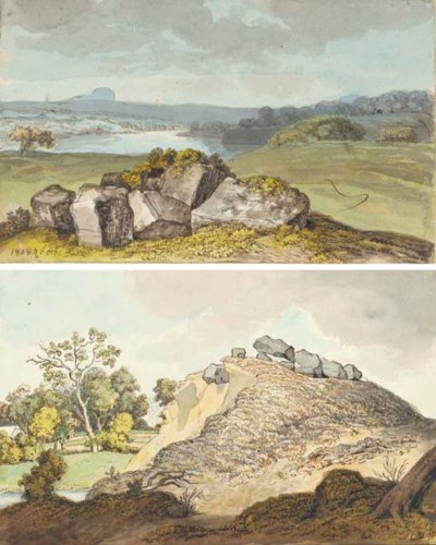 Prehistoric standing stones on