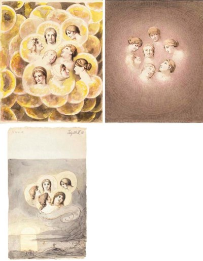 Three illustrations associated