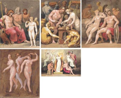 Ten illustrations associated w