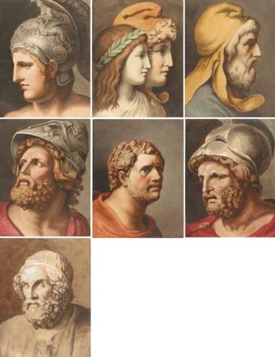 Illustrations to Homer's Iliad