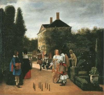 Follower of Pieter de Hooch