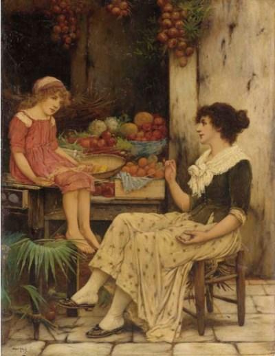 Oliver Rhys (German, fl. 1876-