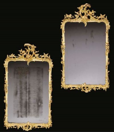 A PAIR OF GERMAN ROCOCO STYLE