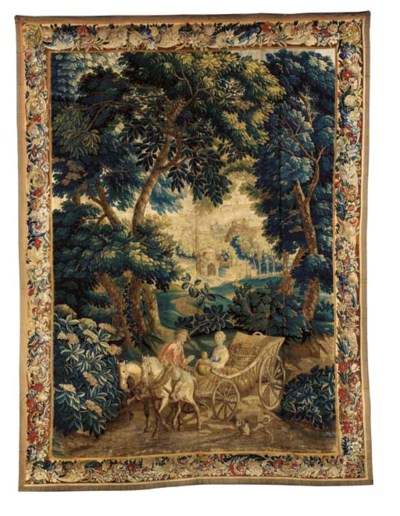 A LILLE GENRE TAPESTRY