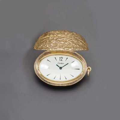 A PENDANT WATCH, BY CARTIER