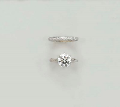 A DIAMOND RING SET