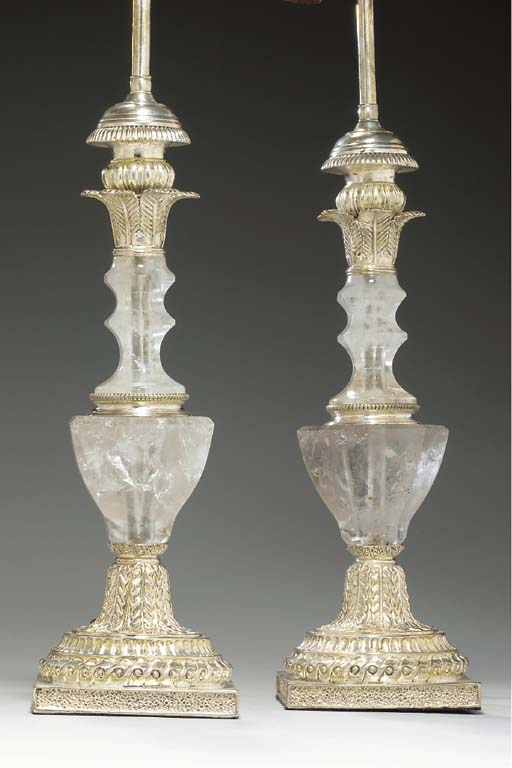 A PAIR OF NEOCLASSIC STYLE ROC