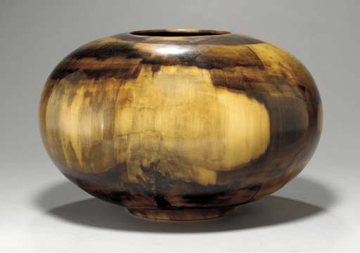 A FIGURED TULIPWOOD BOWL
