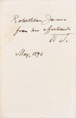 JAMES, William (1842-1910). Is