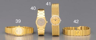 Piaget. A lady's 18K gold, pla