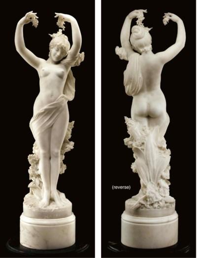 An Italian marble figure of Fl