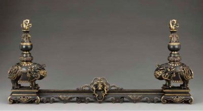 A pair of French Chinoiserie s