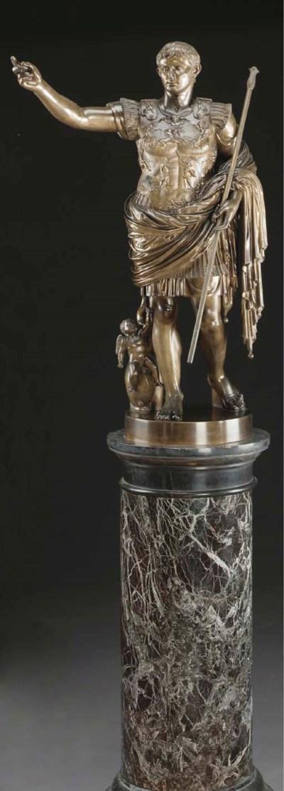 A large Italian bronze figure