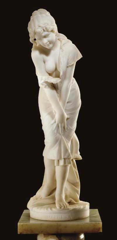 An Italian marble figure of a