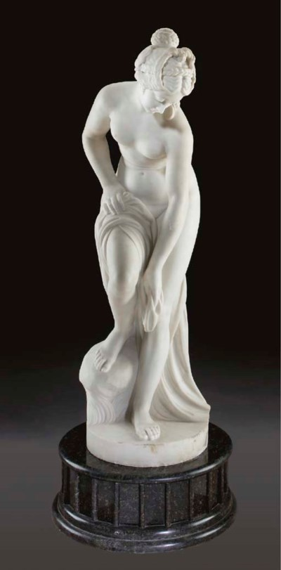 An Italian marble figure of Ve
