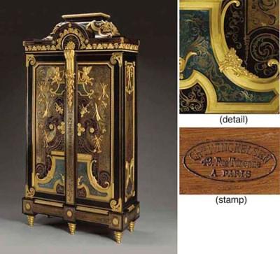 A fine Louis XIV style ormolu-