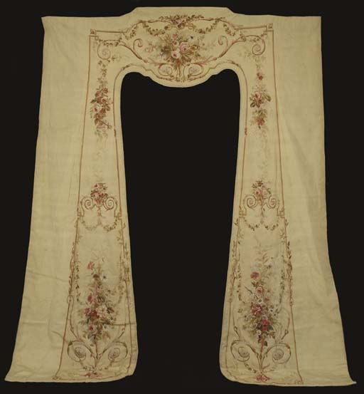 A pair of Aubusson tapestry wi