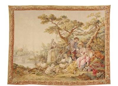 A Louis XV style Aubusson pict