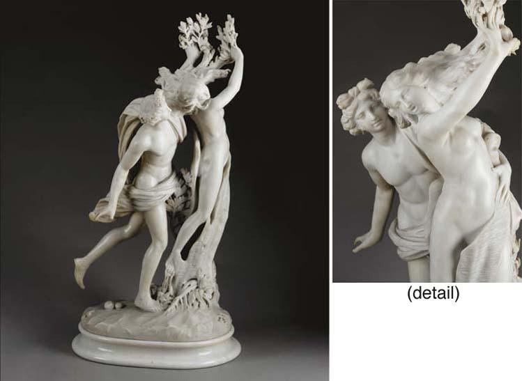 An Italian marble group of Apo