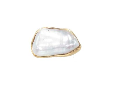 A FRESHWATER PEARL RING, BY AN