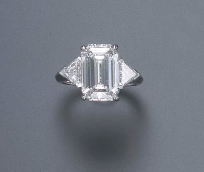 A DIAMOND RING, BY C.D. PEACOC