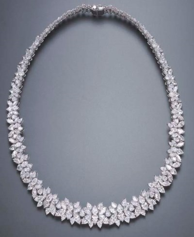 A DIAMOND NECKLACE, BY GEORGE