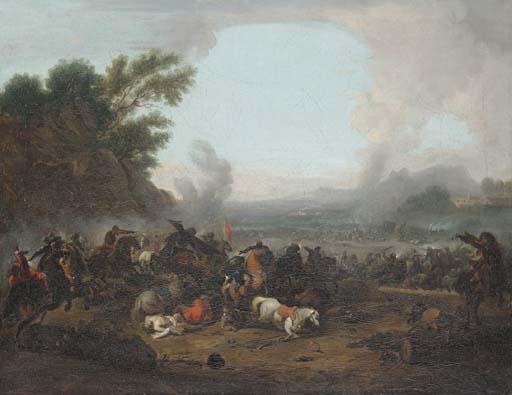 Attributed to Joseph Parrocel (Brignoles 1646-1704 Paris)