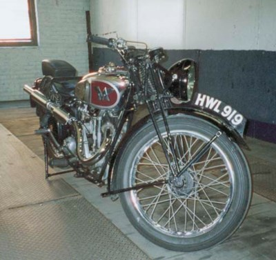 1939 MATCHLESS 350 MOTORCYCLE