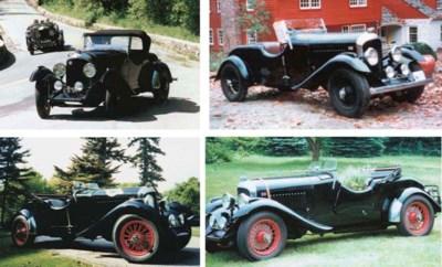 1929 BENTLEY 4½ LITRE TOURER