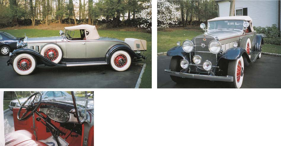 1931 CADILLAC SERIES 355-A ROA