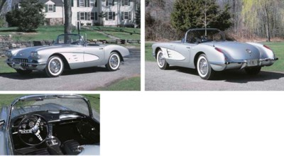 1959 CHEVROLET CORVETTE FUEL I