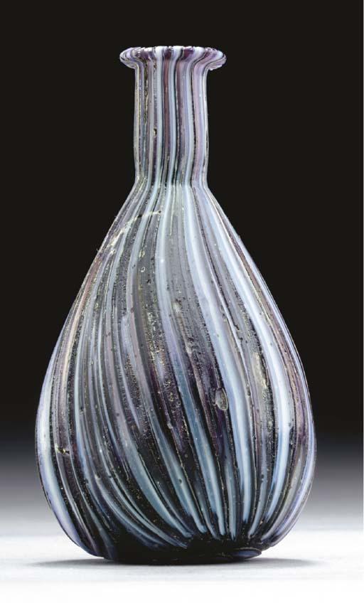 A ROMAN COLOR-BAND MOSAIC GLAS