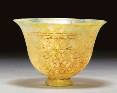 A ROMAN GLASS BOWL