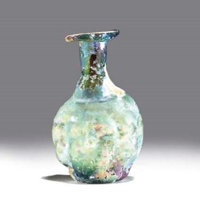 A ROMAN GLASS DOUBLE HEAD-SHAP
