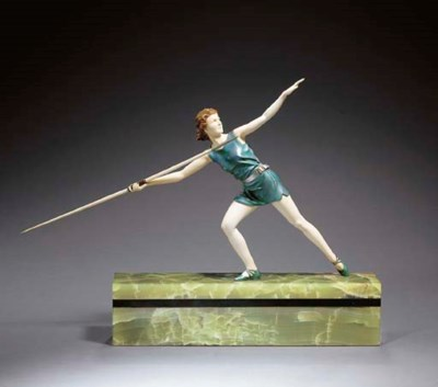 'THE JAVELIN THROWER', A COLD-