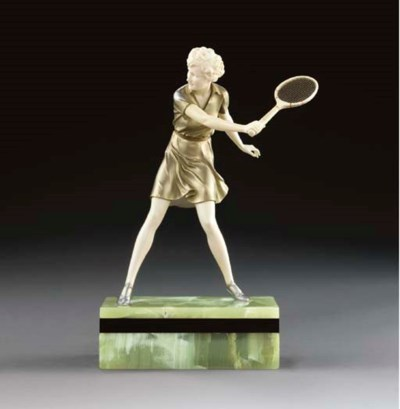 'THE TENNIS PLAYER', A COLD-PA