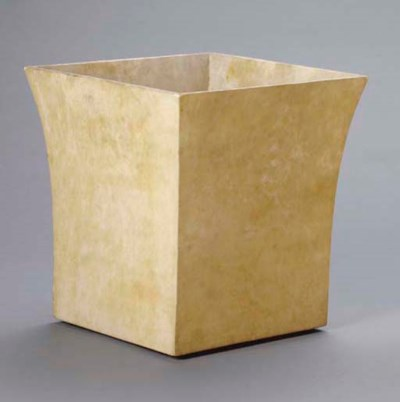 A PARCHMENT COVERED WASTE PAPE