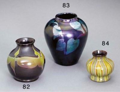 AN 'AGATE' FAVRILE GLASS CABIN