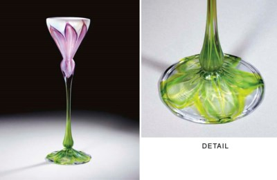 A SPECIAL ORDER FAVRILE GLASS