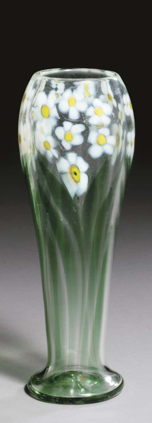 A FAVRILE GLASS 'NARCISSUS' PA