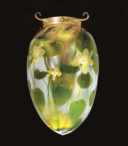 A 'MILLEFIORE' FAVRILE GLASS H