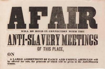 [CIVIL WAR -- ANTI-SLAVERY MOV