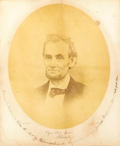 [LINCOLN, Abraham]. GARDNER, A